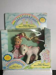 Vintage-My-Little-Pony-Megan-and-Twice-as-Fancy-Sundance-NIB