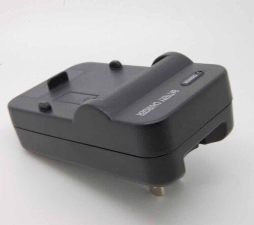 Travl Casa Pared Cargador De Batería Para D-LI50 PENTAX K10D K20D SIGMA BP-21 SD14/_SX