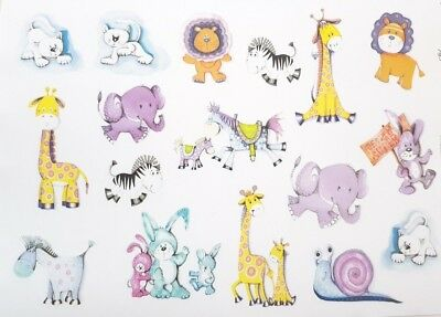 Horses Horseshoes Decals A4 Sheet Premium Craft Paper for Decoupage Motifs