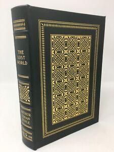 Leather THE LOST WORLD By Arthur Conan Doyle Easton Press Sci Fi Entertaining