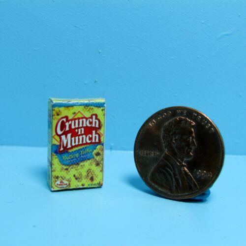 Dollhouse Miniature Replica Box of Crunch /'n Munch ~ G024