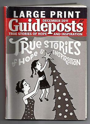 December 2011 Guideposts True Stories Of Hope Magazine Large Print Xmas