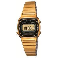 Casio Women's Digital Gold Retro Casual Sports watch LA670WGA-1 Daily Alarm