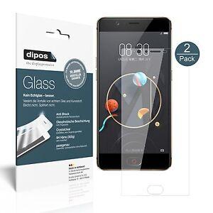 2x-ZTE-Nubia-M2-Lite-Protection-ecran-Verre-souple-Film-Protecteur-9H-dipos