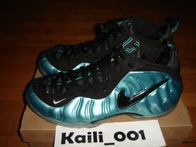 Nike Nike Nike air foamposite pro 11,5 electric Blau retro - 624041-410 ein 355fca