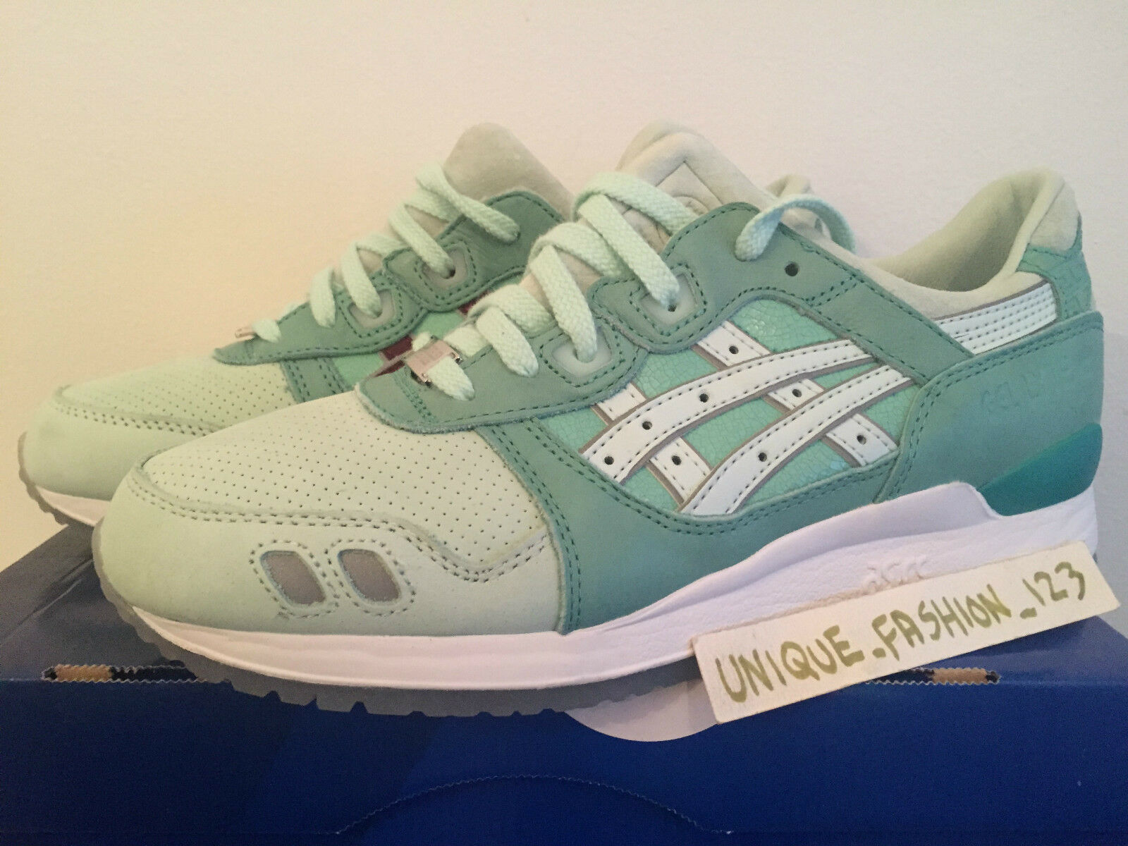 ASICS GEL LYTE III 3 HAL HIGHS HIGHS HIGHS AND LOWS & US 8.5 UK 7.5 41 SILVERSCREEN SCREEN f19622