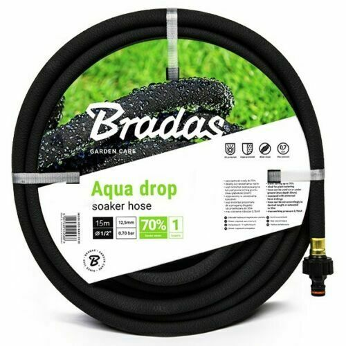 Porous Pipe / Soaker Hose / Leaky Pipe - All sizes up to 100 m - Fast Dispatch