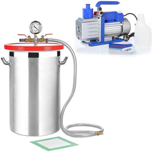 Vacío 27 7L bomba de vacío 100 l//min bomba industrial aire acondicionado sistema