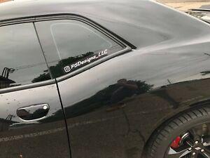 "2X 1"" Custom Twitter Your Username Logo Name Car Window Vinyl Decal Sticker"
