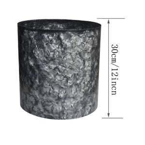0.46mm Celluloid Sheet Drum Wrap Music Instrument Deco Diamond Gray 1600x300mm