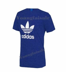 Adidas-Originals-para-Hombre-California-Retro-Camiseta-De-Manga-Corta-Cuello-Redondo-Essentials