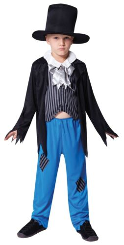 Boys Victorian Urchin Oliver Twist fancy dress costume children 3-11 years
