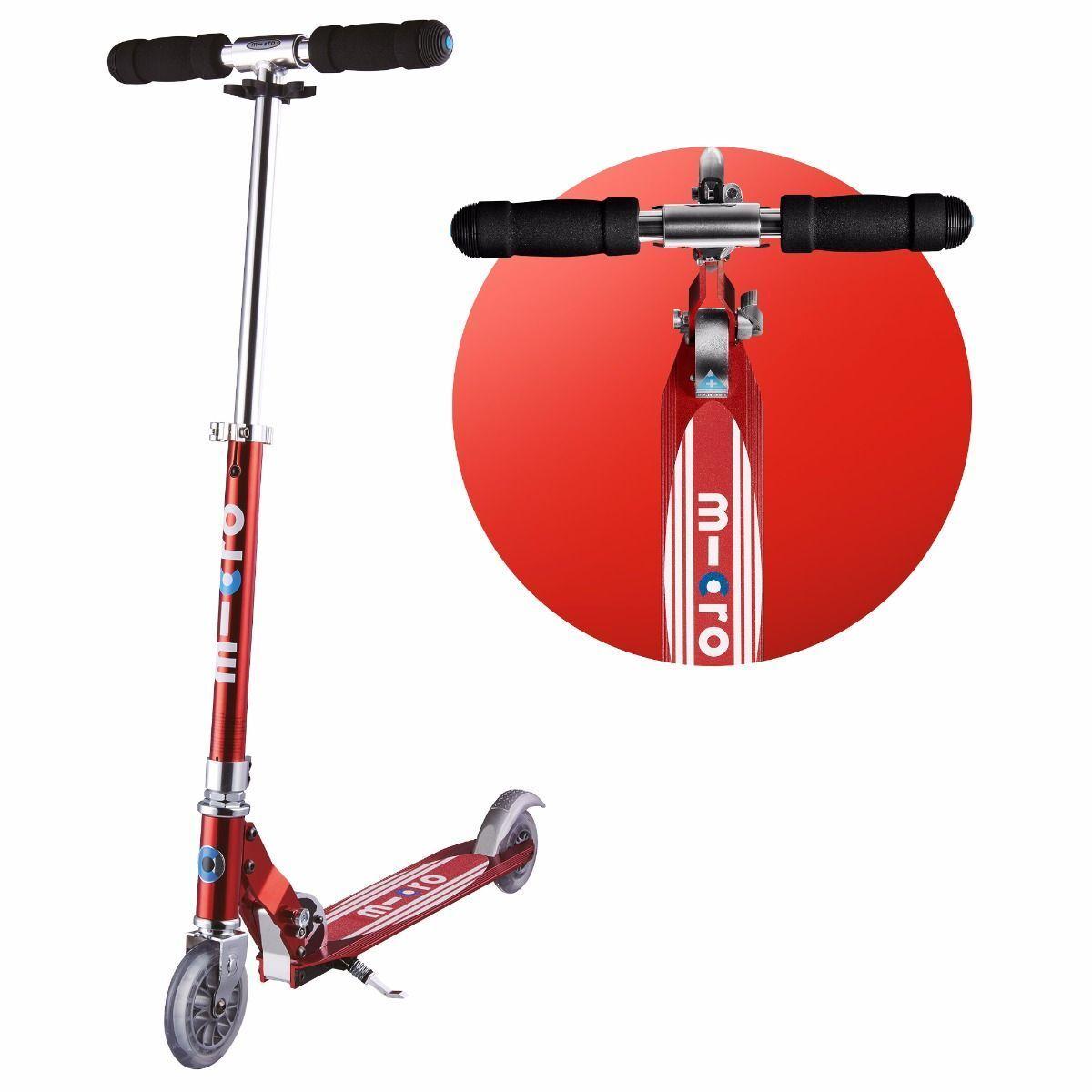 Micro Sprite Scooter - Red Stripe