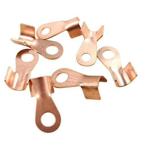 10X 20//40//80//200//300A Car Audio Terminal Lug Cable Connector Copper High Quality