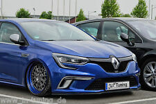 Front alerón cuplippe alerón espada ABS para Renault Megane 4 GT GT-line con Abe
