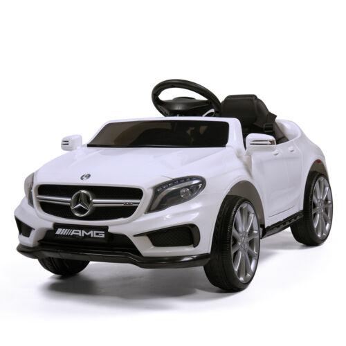 Kids 6V Electric RC Ride On Car Mercedes-Benz Remote /& MP3 White  Licensed
