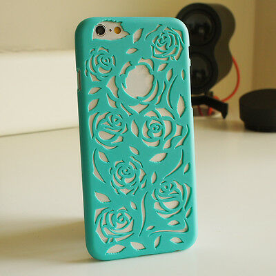 ROSE FLOWER THIN VINTAGE HARD BACK CASE COVER FOR IPHONE 4 4S 5 5S 5C 6 6 plus