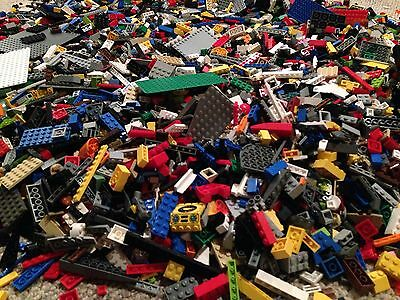 Rocks Bricks Bluk Mix Excellent x15 Qty 200 g. LEGO PARTS