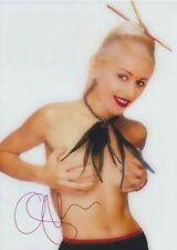 Gwen Stefani (No Bra) No Doubt The Voice EXTREMELY RARE NUDE SIGNED RP 8x10!!!