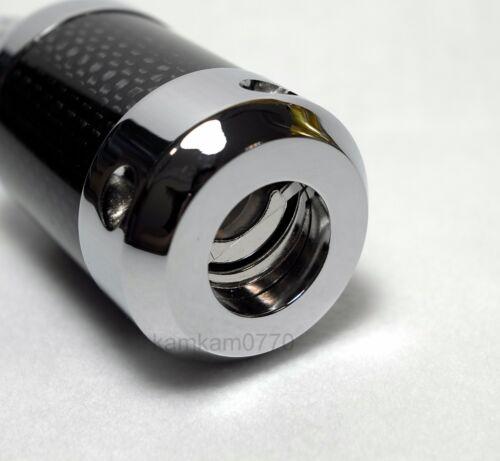 Vanguard Carbon Fiber 24K Gold Plated US 15A AC plug mains connector