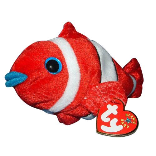 MWMT Ty Beanie Baby Jester Fish 2000