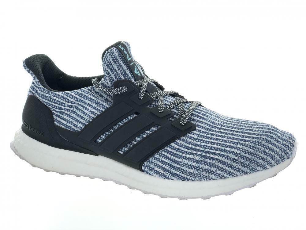 Sie's Adidas UltraBoost Parley BC0248 Laufen Athletic schuhe Cloud Weiß Blau