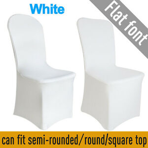 Surprising Details About 100Pcs Spandex Stretch Chair Covers White For Wedding Party Banquet Decoration Inzonedesignstudio Interior Chair Design Inzonedesignstudiocom