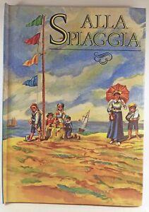 Pop-Up-Alla-spiaggia-Rizzoli-Riproduzione-del-1896-Scenario-aperto-cm-30-x-70