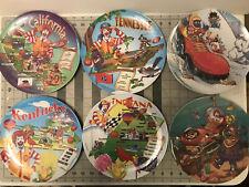 McDonalds Collectible Plates Plastic Ronald McDonald