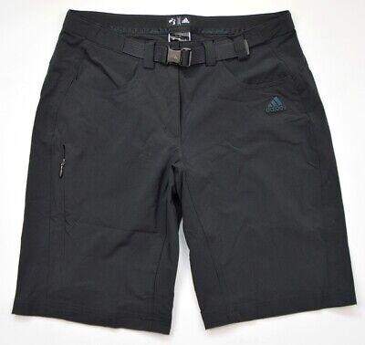 Adidas Ht Flex Shorts Donna Stretch Pantaloni Escursioni A Piedi Terrex Trekking Pant Nero-