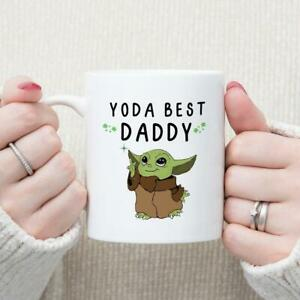 Yoda Best Daddy Mug Father'S Day Gift, Gift For Dad Funny Coffee Cup Gift Men