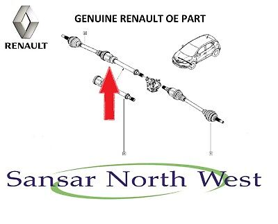 Renault Captur New Genuine Drivers O//S Right Driveshaft 1.5 DCI 391000367R