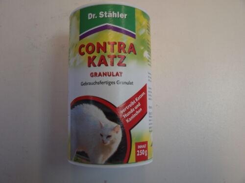 Dr Stähler Contra Katz Granulat 250 g vertreibt Katzen Hunde und Kaninchen