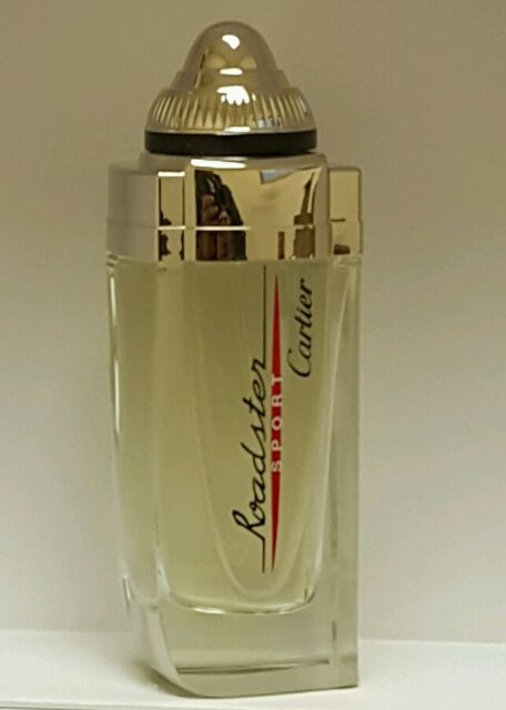 d5c57871401 Cartier Roadster Sport 3.3oz Men s Eau de Toilette Spray With Cap As in Pic