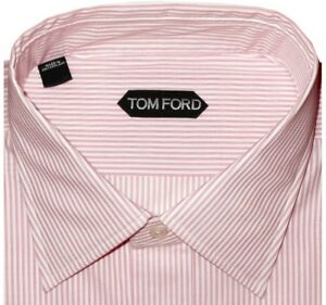 615-NEW-TOM-FORD-PINK-WHITE-PIN-STRIPE-SPREAD-COLLAR-DRESS-SHIRT-EU-44-17-5