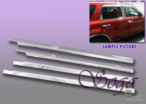 FOR 2008-2012 FORD ESCAPE CHROME STAINLESS STEEL WINDOW SILL SILLS 2009 2010 NEW