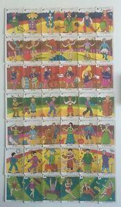 JEU de cartes DES 7 FAMILLES - LES METIERS DU CIRQUE Nestlé CIRCUS