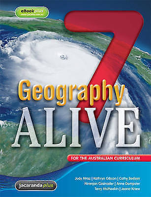 1 of 1 - Geography Alive 7 AC Student Book & eBookPLUS BNew FREE SHIPPING