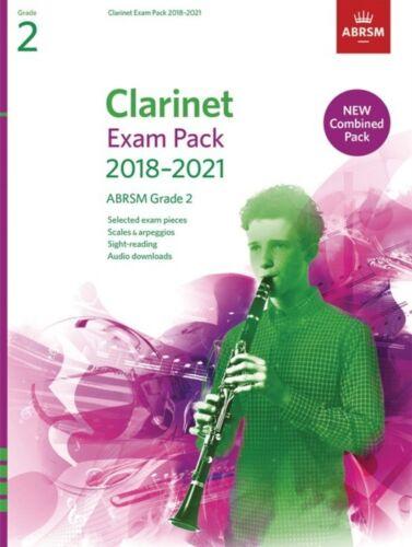 CLARINET EXAM PACK 2018-2021 Grade 2 COMPLETE AB*
