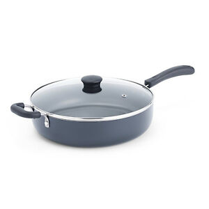 Round Cooking Pan Kitchen Cooker Frying Cookware Non Stick