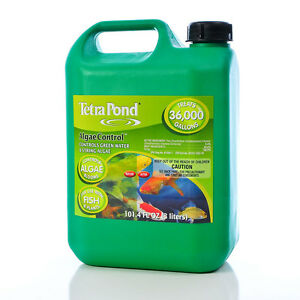 Tetrapond algae control algaecide 101 4 oz safe for use for Algae in fish pond