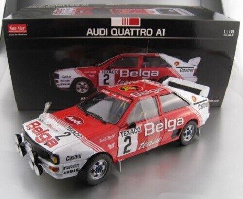 Audi Quattro a1  2 spa 1983 limitado 1.999 unidades Sun Estrella 1 18 OVP nuevo