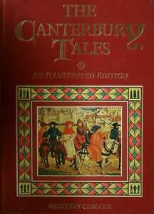THE-CANTERBURY-TALES-AN-ILLUSTRATED-EDITION-Geoffrey-Chaucer-Very-Good-Book