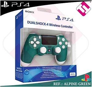 MANDO-PS4-DUALSHOCK-ALPINE-GREEN-PLAYSTATION-4-SONY-VERDE-WIRELESS-100-ORIGINAL