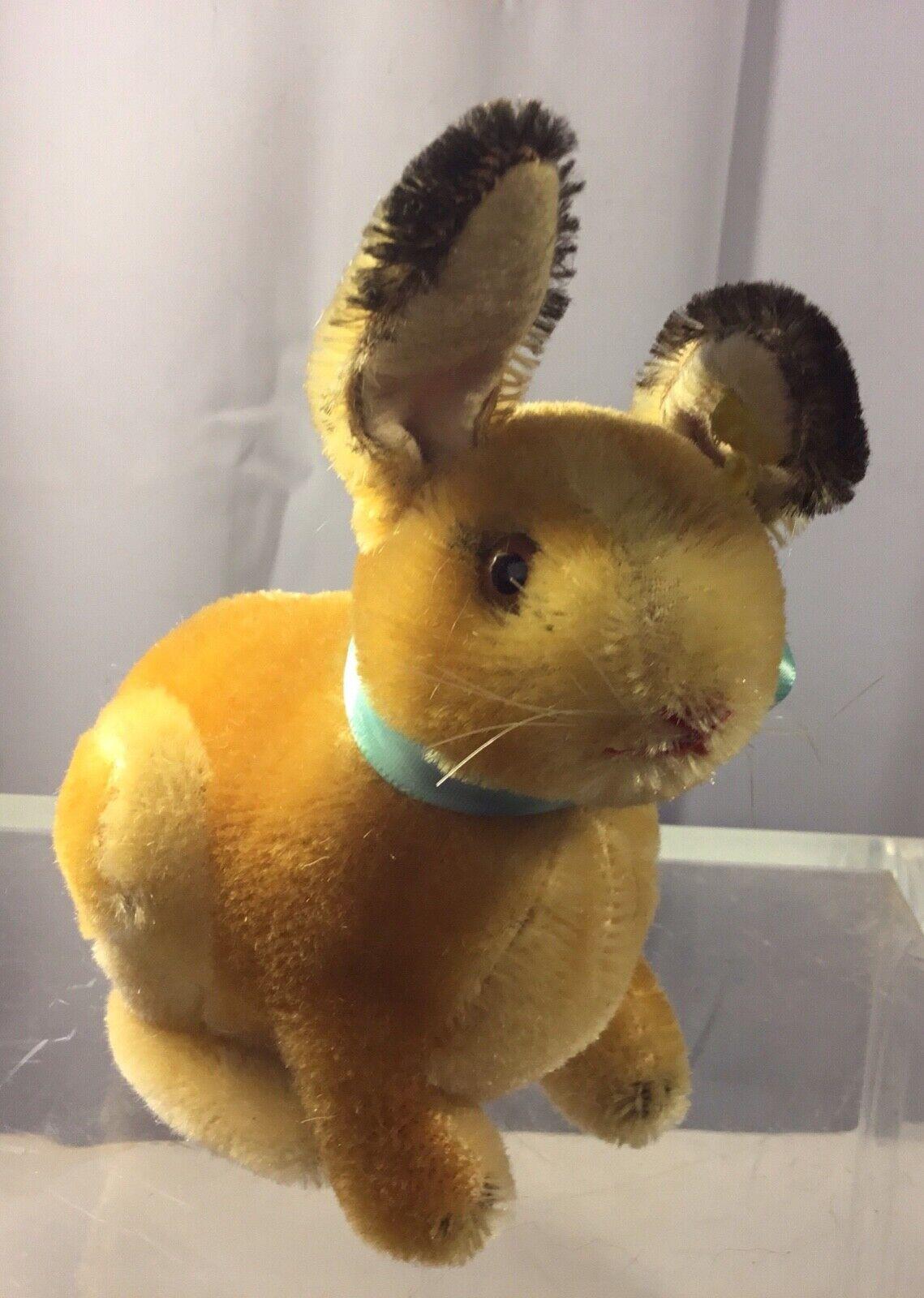 Steiff 9cm sitting bunny Sonny ean 3309, 3309,00 1957-67