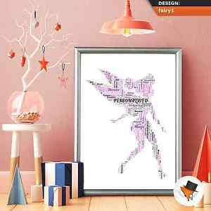 TINKERBELL-WORD-ART-COMPLETELY-PERSONALISED-GIFT-FOR-CHRISTMAS-OR-BIRTHDAY-j