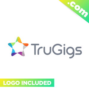 TruGigs-com-Cool-domain-for-sale-Godaddy-PREMIUM-TWO-WORDS-Gigs-Freelancing