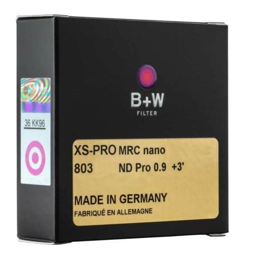 B - Ø 43 mm +3 cegar = 8x W filtro gris XS-pro ND 803 MRC nano ND 0,9