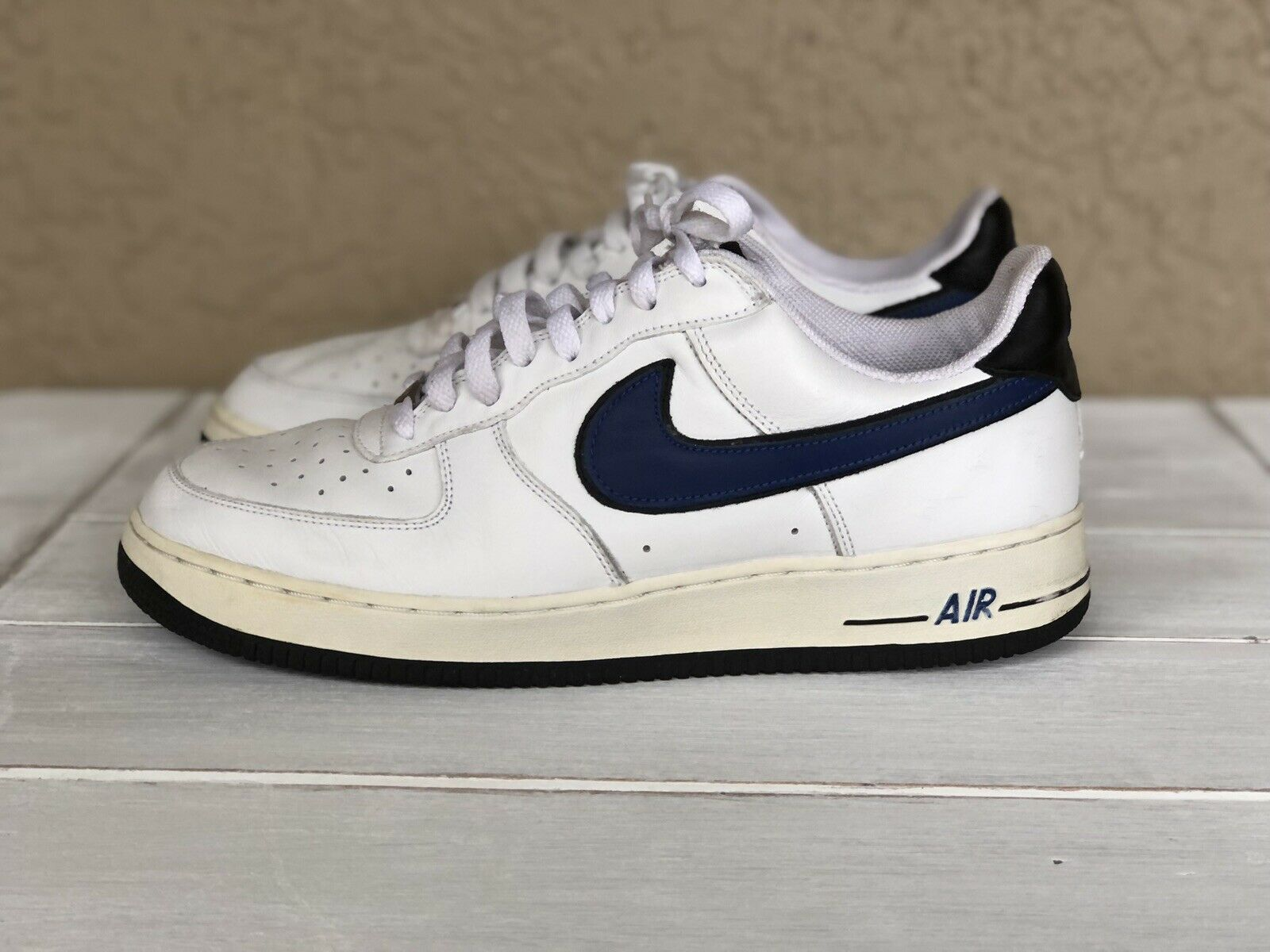 New protection and repair Size 11.5 - Nike Air Force 1 White ...
