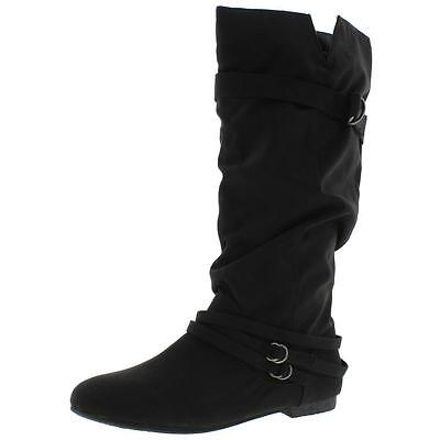 Dolce by Mojo Moxy Womens Sz  7.5 Med Jussie Black Mid-Calf Boots $79.95